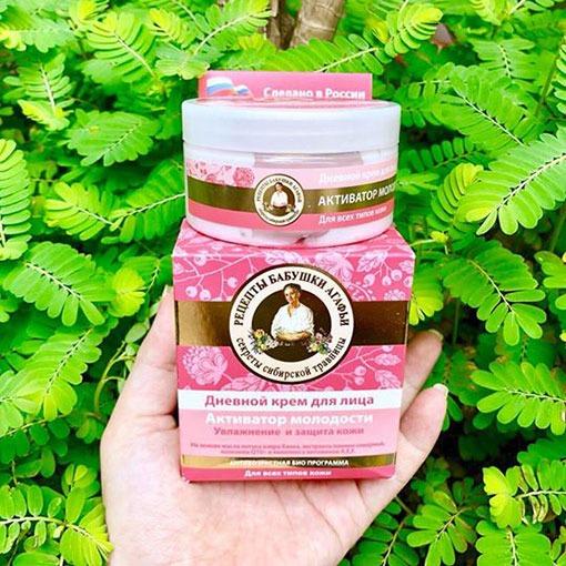 Kembà già Nga Hồng -Day Cream Activator Agafia-Kem trẻ hóa daban ngày