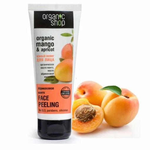 Kem tẩy da chết cà phê Organic Peeling Xoài mơ review