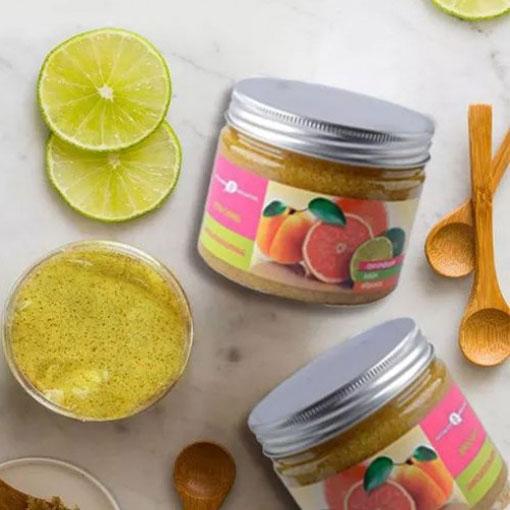 Gel Tẩy da chết Cam chanh bưởi Scrub Grapefruit Lime Apricot của Nga có tốt không?